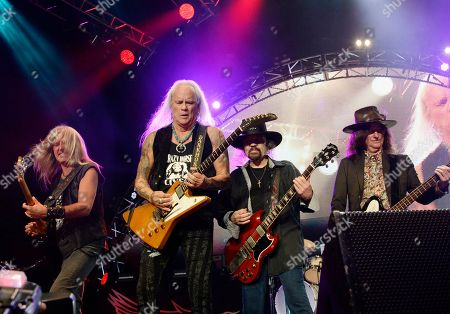 Editorial picture of Lynyrd Skynyrd in concert, Atlanta, USA - 14 Sep 2019