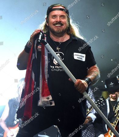 Stock Photo of Johnny Van Zant