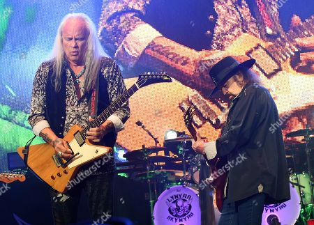Rickey Medlocke and Gary Rossington