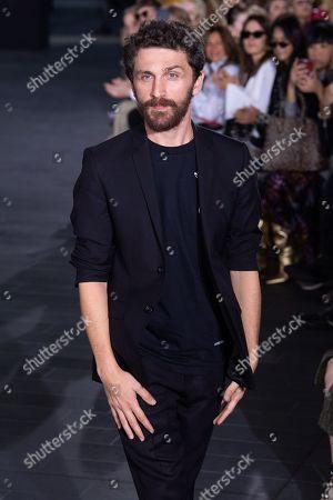 Editorial photo of David Koma show, Runway, Spring Summer 2020, London Fashion Week, UK - 15 Sep 2019