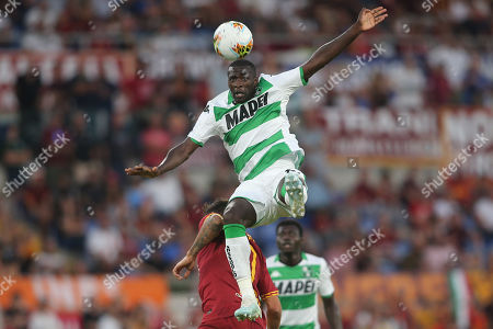 Pedro Obiang (SASSUOLO) in action