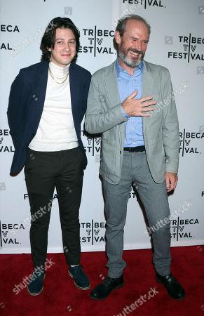 Samuel Farnsworth and Toby Huss