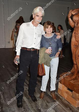 Stock Image of Sam Elliott and Katharine Ross