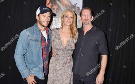 Scott Eastwood, Alison Eastwood and Stacy Poitras