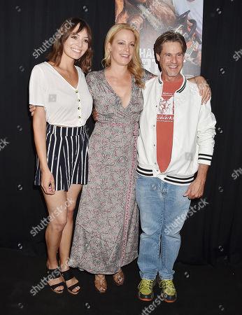 Gabrielle Diaz, Alison Eastwood and Billy McNamara