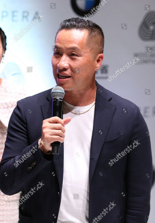 Chinese American designer Phillip Lim attends the opening ceremony