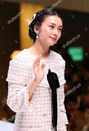 Japanese actress Ko Shibasaki attends the opening ceremony