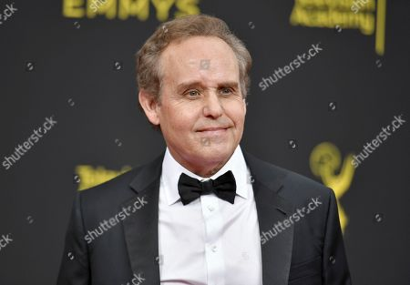 Peter MacNicol arrives at night two of the Creative Arts Emmy Awards, at the Microsoft Theater in Los Angeles