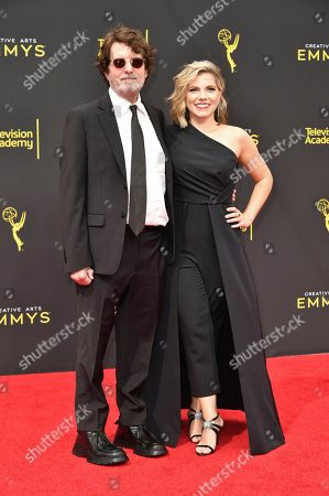 Ashley Ingram, Billy Hopkins. Billy Hopkins, left, and Ashley Ingram arrive at night two of the Creative Arts Emmy Awards, at the Microsoft Theater in Los Angeles