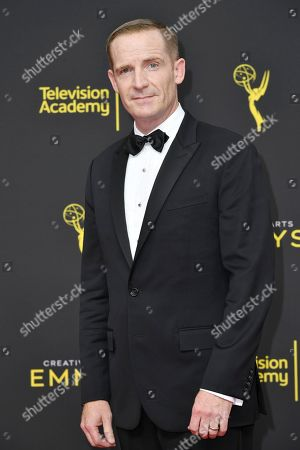Stock Image of Marc Evan Jackson arrives at night two of the Creative Arts Emmy Awards, at the Microsoft Theater in Los Angeles