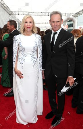 Catherine O'Hara, Bo Welch. Catherine O'Hara, left, and Bo Welch arrive at night two of the Television Academy's 2019 Creative Arts Emmy Awards, at the Microsoft Theater in Los Angeles