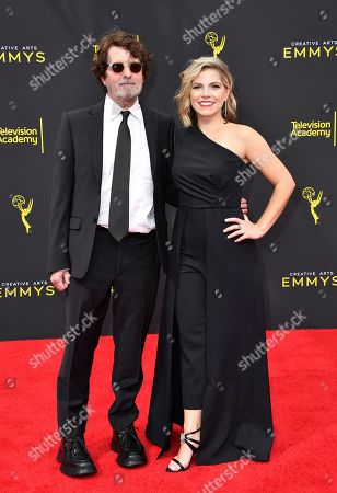 Billy Hopkins, Ashley Ingram. Billy Hopkins, left, and Ashley Ingram arrive at night two of the Television Academy's 2019 Creative Arts Emmy Awards, at the Microsoft Theater in Los Angeles