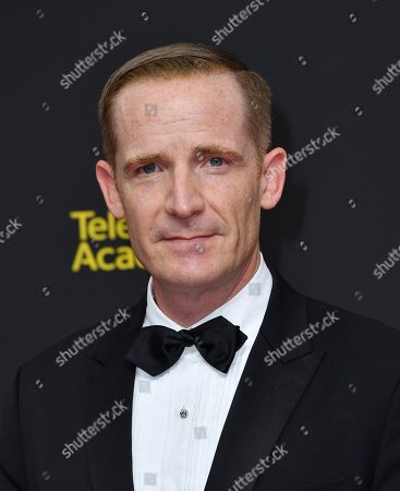 Marc Evan Jackson arrives at night two of the Television Academy's 2019 Creative Arts Emmy Awards, at the Microsoft Theater in Los Angeles