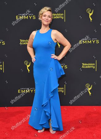 Stock Photo of Tiffany Little Canfield arrives at night two of the Television Academy's 2019 Creative Arts Emmy Awards, at the Microsoft Theater in Los Angeles