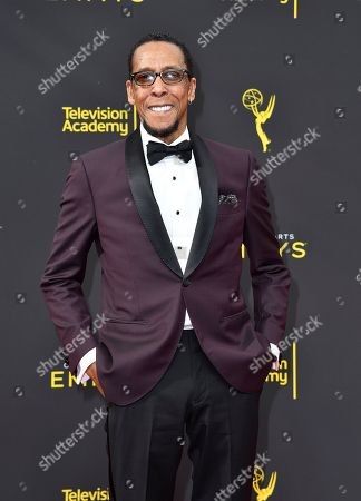 Ron Cephas Jones arrives at night two of the Television Academy's 2019 Creative Arts Emmy Awards, at the Microsoft Theater in Los Angeles