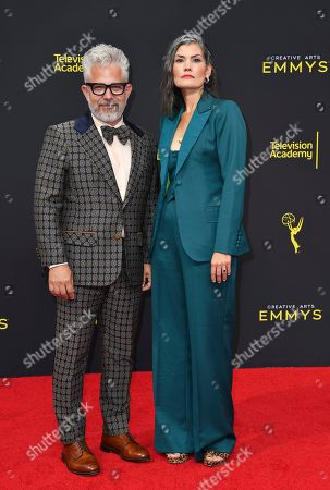 Joseph La Corte, Melissa Toth. Joseph La Corte, left, and Melissa Toth arrive at night two of the Television Academy's 2019 Creative Arts Emmy Awards, at the Microsoft Theater in Los Angeles