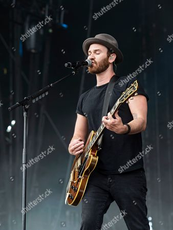 Jason Wade of Lifehouse performs during KAABOO 2019 at the Del Mar Racetrack and Fairgrounds, in Del Mar, Calif