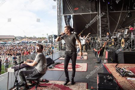 David Shaw Ed Williams. Ed Williams, left, and David Shaw of The Revivalists perform during KAABOO 2019 at the Del Mar Racetrack and Fairgrounds, in Del Mar, Calif