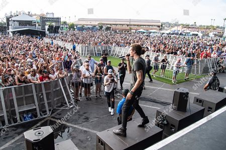 David Shaw of The Revivalists performs during KAABOO 2019 at the Del Mar Racetrack and Fairgrounds, in Del Mar, Calif