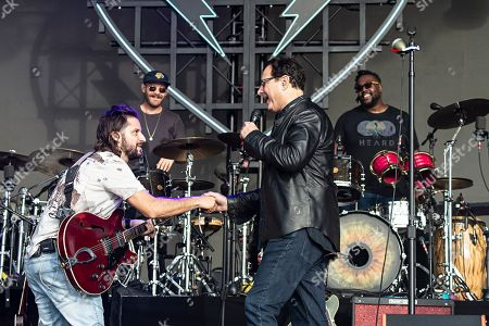 Bob Saget Zack Feinberg. Actor/comedian Bob Saget performs with Zack Feinberg of The Revivalists during KAABOO 2019 at the Del Mar Racetrack and Fairgrounds, in Del Mar, Calif