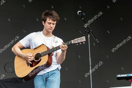 Alec Benjamin performs during KAABOO 2019 at the Del Mar Racetrack and Fairgrounds, in Del Mar, Calif