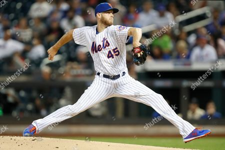 Jeff Wheeler. New York Mets starting pitcher Zack Wheeler (45) winds up during the first inning of a baseball game against the Los Angeles Dodgers, in New York