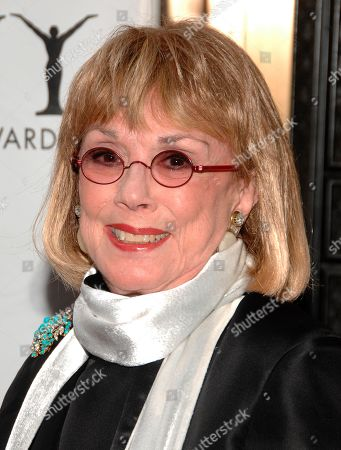 "Actor Phyllis Newman arrives at the 63rd Annual Tony Awards in New York. Newman, a Tony Award-winning Broadway veteran who became the first woman to host ""The Tonight Show"" before turning her attention to fight for women's health, died Sunday, Sept. 15, 2019. She was 86"