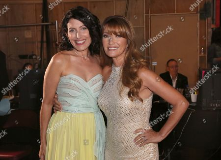 Lisa Edelstein, Jane Seymour. Lisa Edelstein, left, and Jane Seymour attend night two of the Television Academy's 2019 Creative Arts Emmy Awards, at the Microsoft Theater in Los Angeles