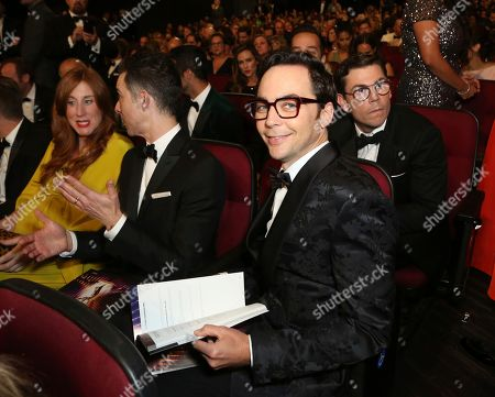 Jim Parsons attends night two of the Television Academy's 2019 Creative Arts Emmy Awards, at the Microsoft Theater in Los Angeles
