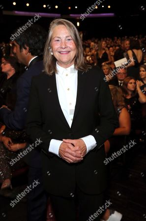 Cherry Jones attends night two of the Television Academy's 2019 Creative Arts Emmy Awards, at the Microsoft Theater in Los Angeles