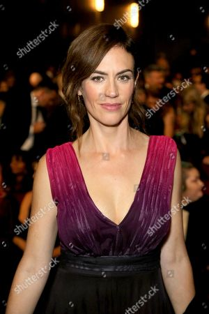Maggie Siff attends night two of the Television Academy's 2019 Creative Arts Emmy Awards, at the Microsoft Theater in Los Angeles