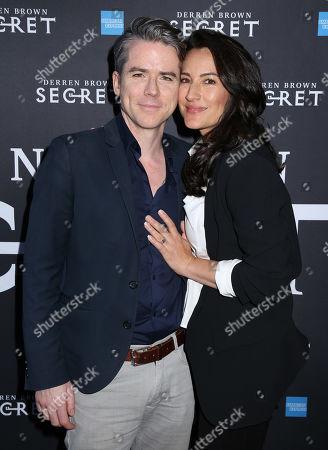 Editorial photo of 'Derren Brown: Secret' Opening Night, Arrivals, New York, USA - 15 Sep 2019