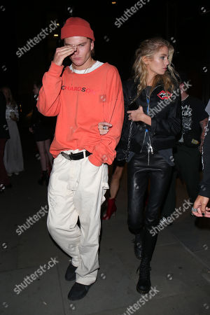 Jordan Barrett and Stella Maxwell