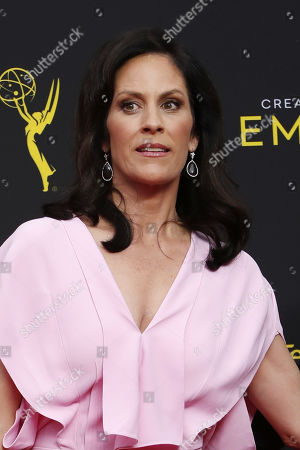 Annabeth Gish arrives for the 2019 Creative Arts Emmy Awards at the Microsoft Theater in Los Angeles, California, USA, 15 September 2019. The Creative Arts Emmy Awards honor excellence in Television technical categories such as makeup, casting direction, costume design, editing and cinematography. The 71st Primetime Emmy Awards Ceremony will take place on 22 September 2019.