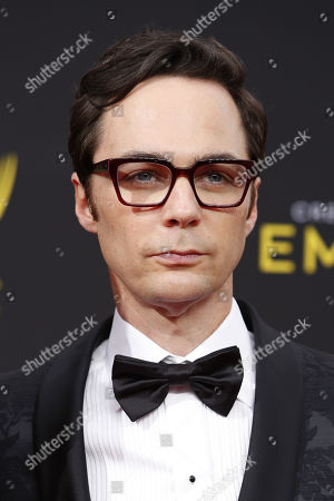 Jim Parsons arrives for the 2019 Creative Arts Emmy Awards at the Microsoft Theater in Los Angeles, California, USA, 15 September 2019. The Creative Arts Emmy Awards honor excellence in Television technical categories such as makeup, casting direction, costume design, editing and cinematography. The 71st Primetime Emmy Awards Ceremony will take place on 22 September 2019.