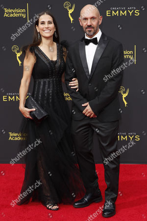 Mexican cinematographer Gonzalo Amat (R) and Aurora Amat (L) arrive for the 2019 Creative Arts Emmy Awards at the Microsoft Theater in Los Angeles, California, USA, 15 September 2019. The Creative Arts Emmy Awards honor excellence in Television technical categories such as makeup, casting direction, costume design, editing and cinematography. The 71st Primetime Emmy Awards Ceremony will take place on 22 September 2019.