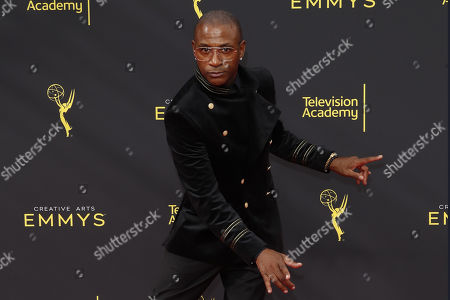 Tommy Davidson arrives for the 2019 Creative Arts Emmy Awards at the Microsoft Theater in Los Angeles, California, USA, 15 September 2019. The Creative Arts Emmy Awards honor excellence in Television technical categories such as makeup, casting direction, costume design, editing and cinematography. The 71st Primetime Emmy Awards Ceremony will take place on 22 September 2019.