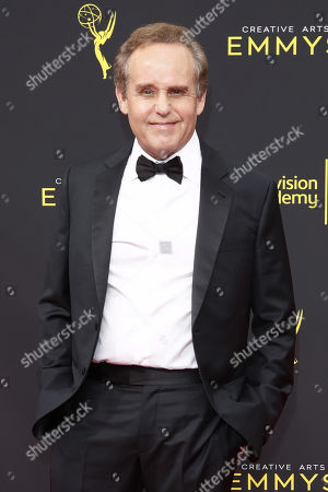 Peter MacNicol arrives for the 2019 Creative Arts Emmy Awards at the Microsoft Theater in Los Angeles, California, USA, 15 September 2019. The Creative Arts Emmy Awards honor excellence in Television technical categories such as makeup, casting direction, costume design, editing and cinematography. The 71st Primetime Emmy Awards Ceremony will take place on 22 September 2019.