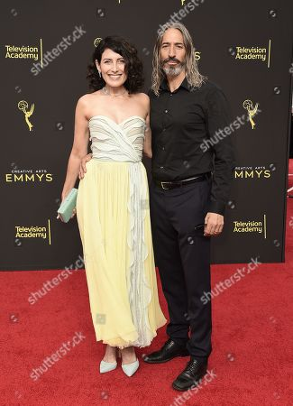 Stock Picture of Lisa Edelstein, Robert Russell