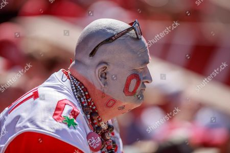 Editorial picture of Indiana University v Ohio State, NCAA football, IU Memorial Stadium, Bloomington, USA - 14 Sep 2019