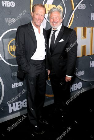 Stock Picture of Iain Glen and Conleth Hill