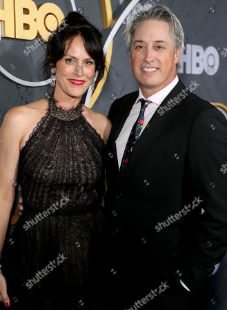 Stock Image of Annabeth Gish and Wade Allen