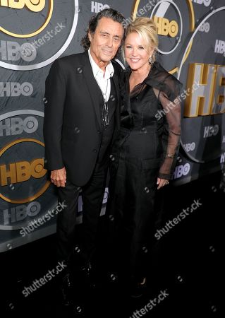 Stock Picture of Ian McShane and Gwen Humble