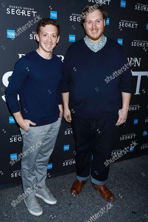 Danny Skinner and Ethan Slater