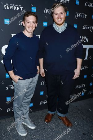 Editorial image of 'Derren Brown: Secret' Opening Night, Arrivals, New York, USA - 15 Sep 2019