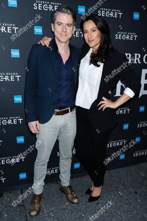 Editorial photo of 'Derren Brown: Secret' Opening Night, Arrivals, New York, USA - 15 Sep 2019