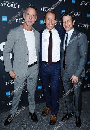 Josh Lehrer, Jeffrey Seller and Tommy Kail