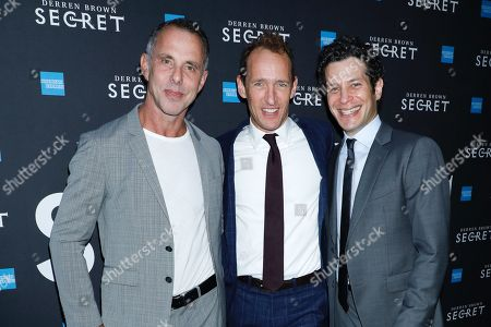 Stock Image of Josh Lehrer, Jeffrey Seller and Tommy Kail