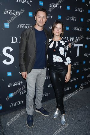 Stock Image of JJ Feild and Neve Campbell