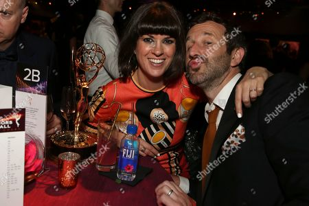 Dawn O'Porter, Chris O'Dowd. Ketel One Family Made Vodka toasts to television's finest as the official spirits partner of the 71st Emmy Awards season at the 2019 Creative Arts Emmy Awards ñ Night Two on at L.A. LIVE in Los Angeles